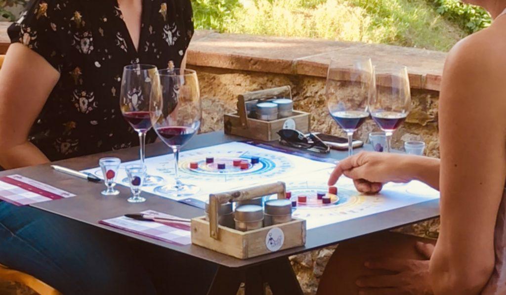Wine Sensory Game